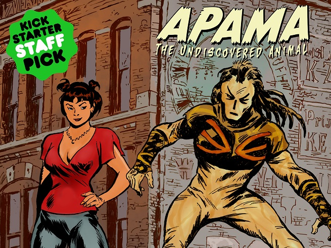 Hero Tomorrow Director Ted Sikora On The Apama Comics Hardcover And …