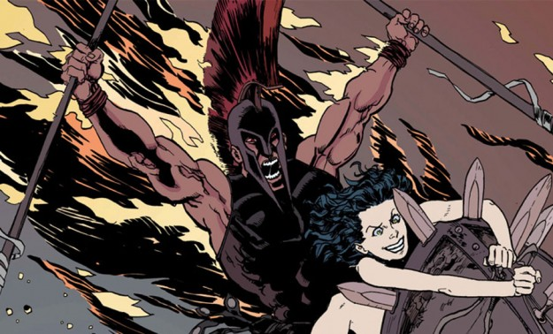 'Olympians' creator George O'Connor draws battle lines in 'Ares'