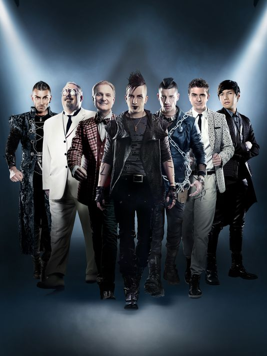 'The Illusionists' combines seven master magicians