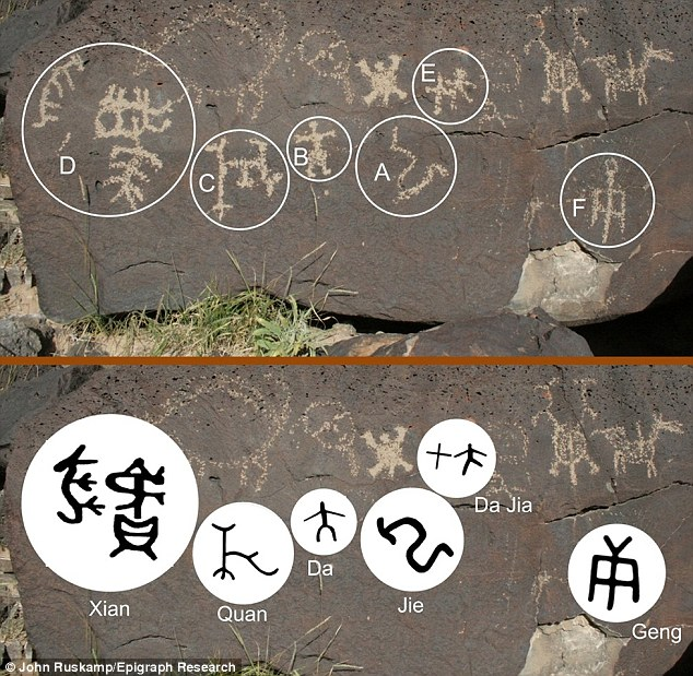 Ancient Chinese script may prove Asians discovered America 3300 years ago