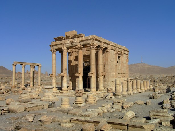 An Ancient Temple in Palmyra Is Destroyed