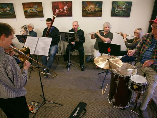 A deep love of music brings seniors together