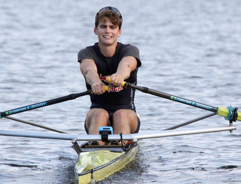 Andrew Campbell may be America's best oarsman