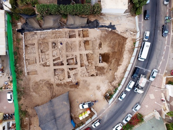 High-Rise Residential Building Includes Bronze Age Citadel in Basement