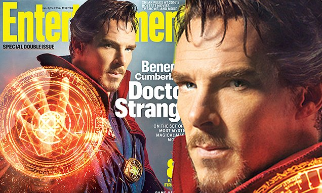 Benedict Cumberbatch is Doctor Strange for Entertainment Weekly