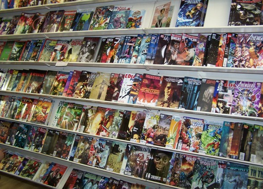Many British Stores Without Their Comics Today