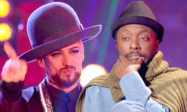 Will.i.am and Boy George stuck with weakest teams on The Voice UK writes Jim …