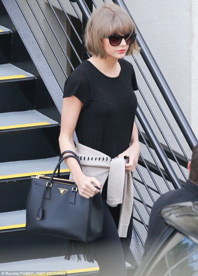 Taylor Swift cuts chic look as she steps out in Beverly Hills